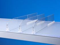 Separator Reglabil Plexiglas Rafturi