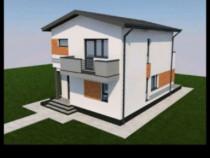 Casa Individuală Miroslava Valea Adâncă 105mp utili