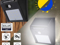 Lampa cu LED incarcare solara senzor de miscare 12 LED C249