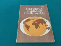 Metodica predării geografiei la clasele ix-xii/ 1982
