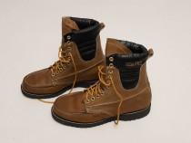Ghete, bocanci, boots piele naturală Echt Leder, mărimea 44