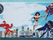 Cutie metalică / Penar cu personajele din Justice League