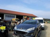 Dezmembrez Peugeot 407 avariat diesel 1.6