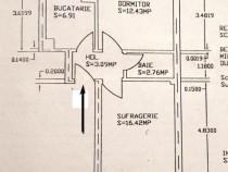 Apartament 2 camere ultracentral decomandat