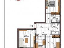 Metrou Nicolae Teclu 10 min., Apartament 3 camere Prima Casa