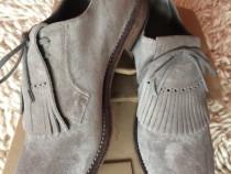 Pantofi Burberry suede formal english icon,produs original!