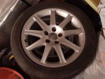 Janta Audi A6, A5,A4  originală + anvelopa nouă  225/50/17