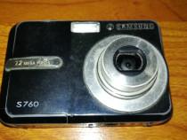 Camera foto digitala samsung s760 (7,2 mp) obiectiv blocat
