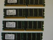 Memorii RAM 256 mb samsung pc2700 cl 2.5 - 4 bucati pret 10
