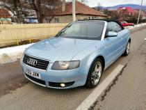 Audi A4 Cabrio 3.0 Benzină 218 CP