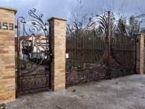Porti, garduri, balustrade fier forjat