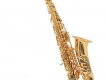 Saxofon din alamă galbenă cu luciu auriu(70047)