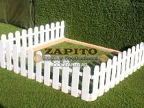 Gard de gradina / gard decorativ / gard pentru flori - h 40