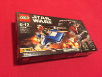 Lego Star Wars A-Wing vs TIE Silencer Microfighters 75196 NO
