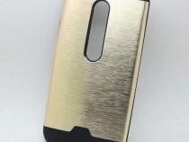 Carcasa protectie Motorola Moto G3, 2 piese, spate din alumi