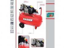 Compresor aer raider rd-ac03, 3 cp, 100 l