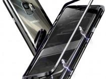 Husa Magnetica Neagra Spate Sticla Samsung S8 S8+ S9 S9+