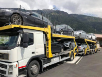 Transport auto Germania-Romania platforma/Trailer Non-Stop
