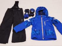 Costum iarnă, salopeta ski Everest + mănuși, mărimea 122.