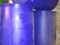 Butoaie 220l de plastic curate impecabil foarte groase