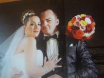 Sacou mire nunta ceremonie maro inchis marimea 54