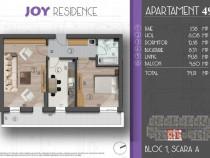 Apartament cu 2 camere, decomandat, bloc nou Central