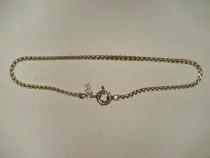 A227-Lant ceas buzunar alama aurita marca Agatha.
