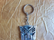 Breloc metalic cu logo Transformers