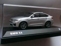 Macheta BMW X4 2015 silver - Herpa 1/43