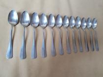 Set complet 12 lingurite argintate. Marca Krupp Berndorf