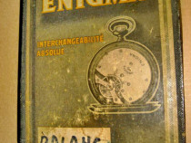 A257- I-Cutie ceasuri Enigma veche Tavannes & Co Suisse.