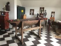 Masa antica artizanala din lemn