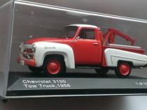 Macheta Chevrolet 3100 Tow Truck 1956 - WhiteBox 1/43