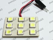 Placuta cu LED-uri SMD, 9 leduri, 12V-R-5009