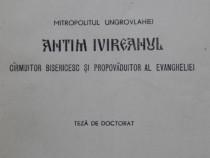 Carte Mitropolitul Ungrovlahiei Antim Ivireanul