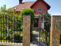 Casa curtea de Argeș la iesirea catre Vidraru-Transfagarasan
