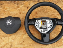 Volan piele cu airbag Opel Zafira B