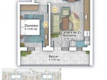 Apartament 2 camere Titan Auchan – Theodor Pallady - Metrou
