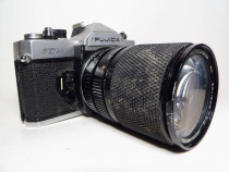 Fujica STX-1 obiectiv Soligor Zoom+Macro 28-80mm f/3.3-4.5