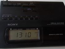 Radio SONY ICF-C303L digital ceas Fm/Mw/Lw memorii Taiwan