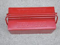 Cutie metalica Bauhaus,pliabila pentru scule
