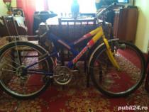 """Bicicletă spaniolă marca """"racer"""" mtb18speed"""
