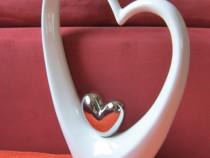 Cadou deosebit -love-doua inimi-decoratiune eleganta inima