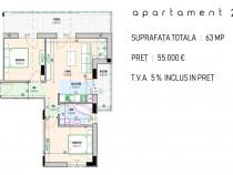 Apartament 3 camere cu terasa 17mp,Bragadiru-Diamantului 166