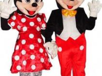 Costume/Mascote Mickey&Minnie mouse