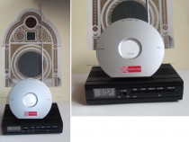 Radio portabil + ceas cu alarma, doua piese vintage