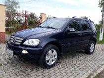 Mercedes Ml 270cdi 164cp Final Edition 10.2004 Climă 6Viteze