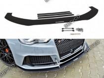 Prelungire splitter bara fata Audi RS3 8VA Sportback v3