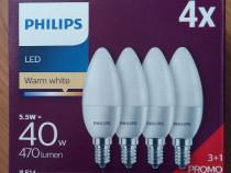 Becuri economice cu led marca Philips cu dulie mica