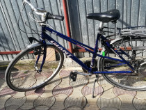 Bicicleta de aluminiu unisex